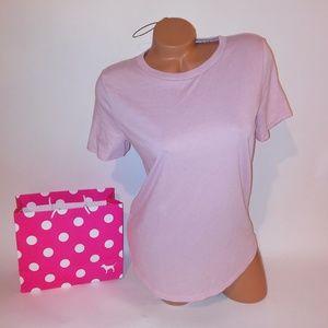 Victoria Secret PINK T Shirt  Crew Neck Short Slee